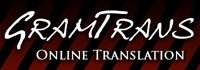 GramTrans Online Translation